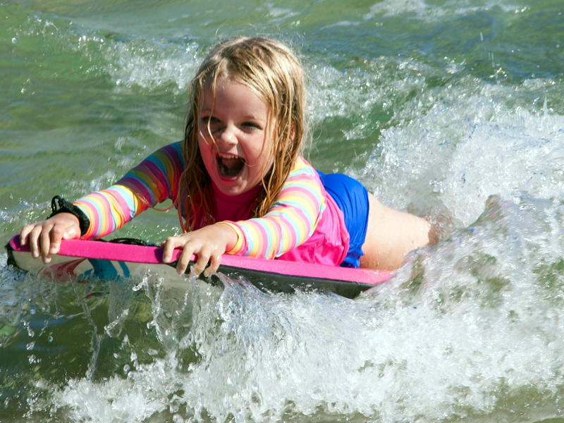 Bodyboarding for kids